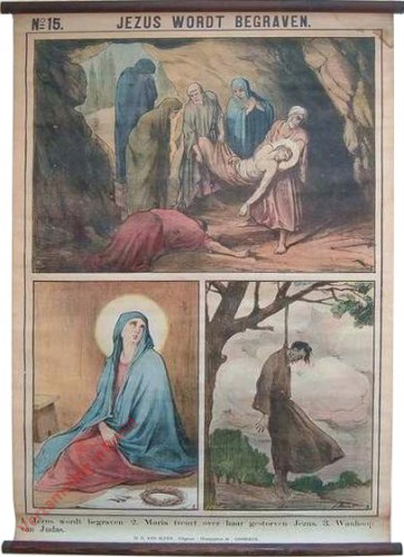 15 - Jezus wordt begraven [Nederlands]